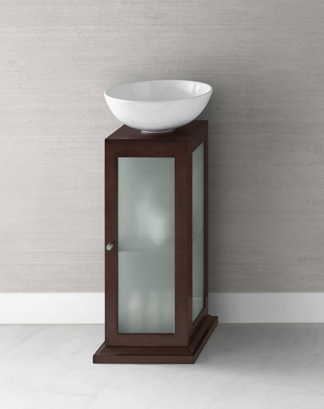 Bathroom Pedestal Sink Storage Cabinet 189 Part 57