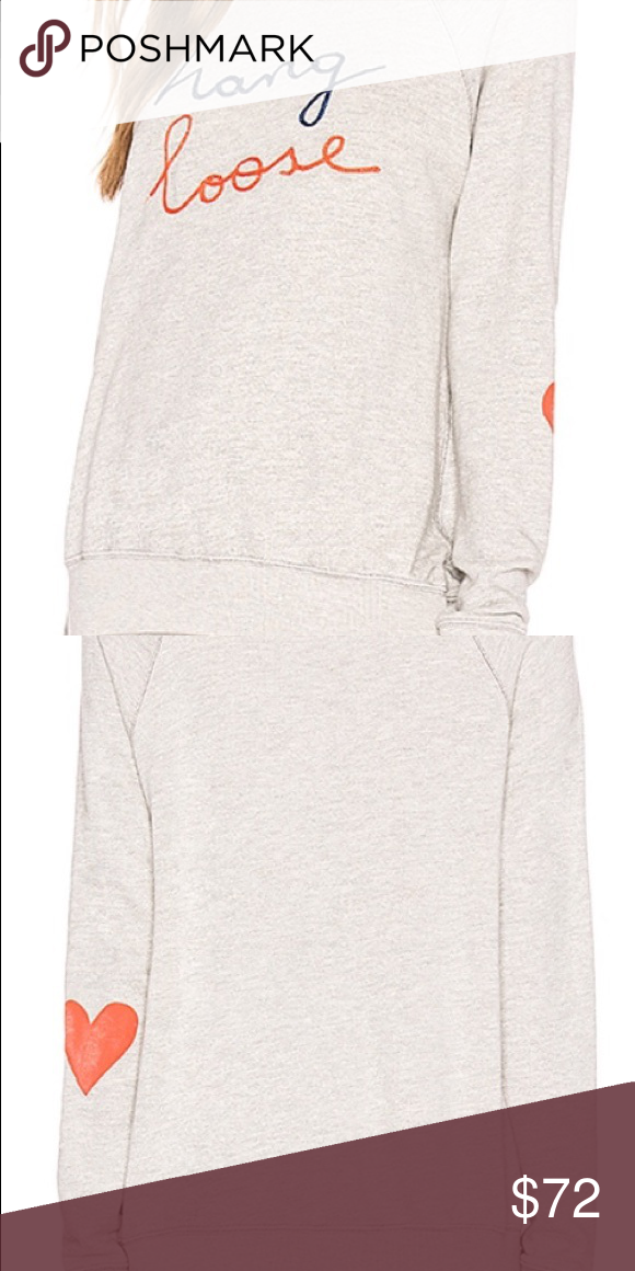 Sundry Hang Loose Sweatshirt NWT Size Large Cotton blend