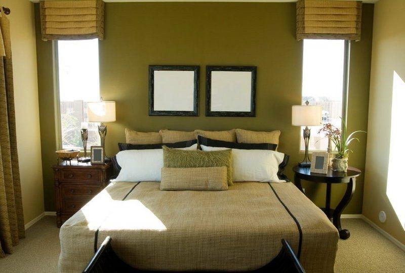 BEDROOM Green Brown Bedroom Decorating Ideas Design On A