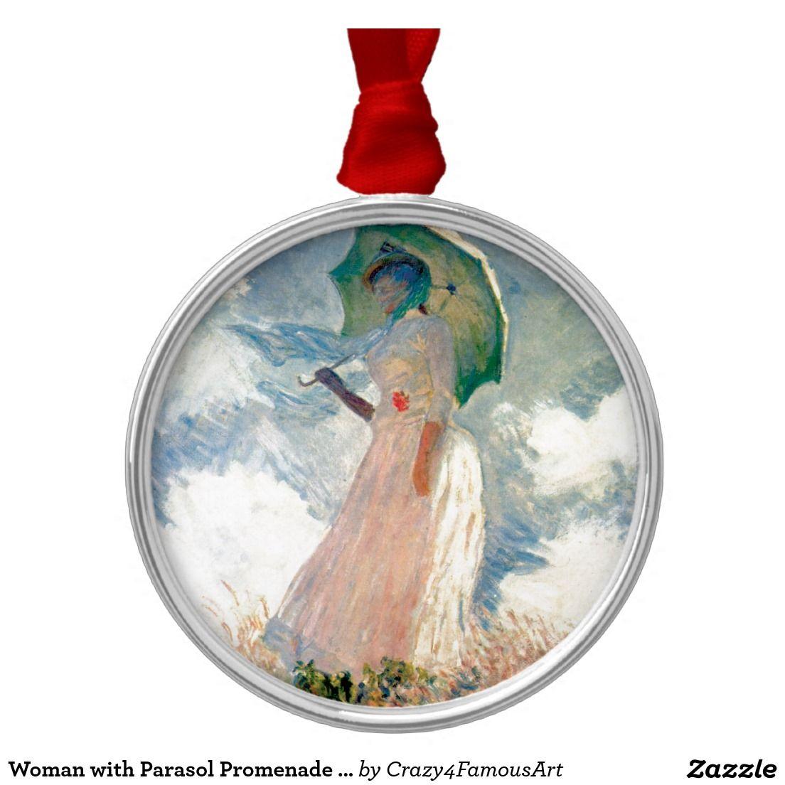 Woman with Parasol Promenade Monet
