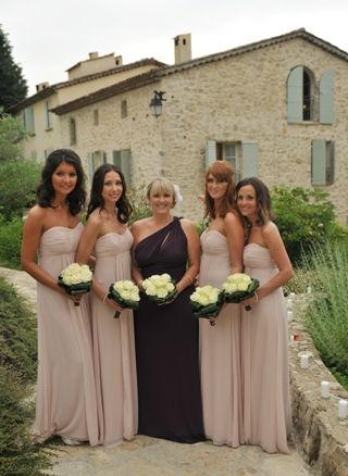 Real Wedding At Bastide St Mathieu French Riviera France Pink And