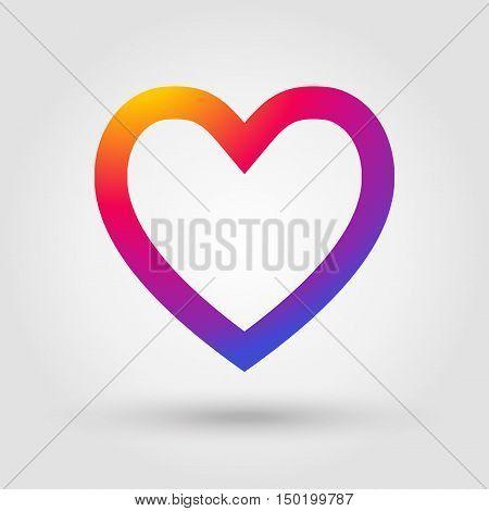 Heart Icon Heart Label Hert Button Heart Tag Heart Love Symbol