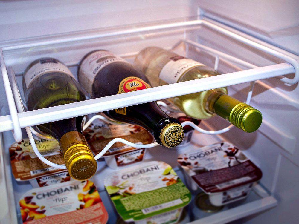 Sorbus Fridge Wine Rack Maximizes, Wine Bottle Storage For Fridge