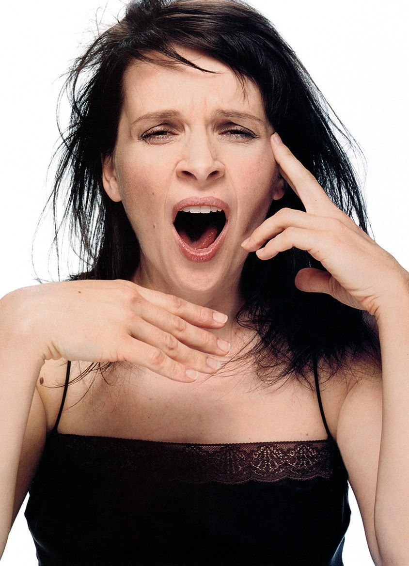 juliette binoche portraits in eyes