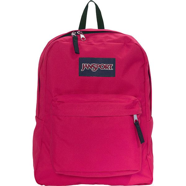 JanSport Superbreak Backpack- Sale Colors - Cerise - School ...