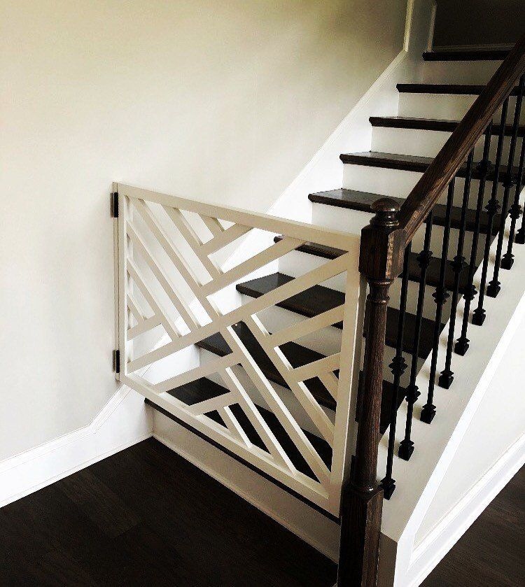 Geometric Gate Pet Security Gate Modern Baby Gate