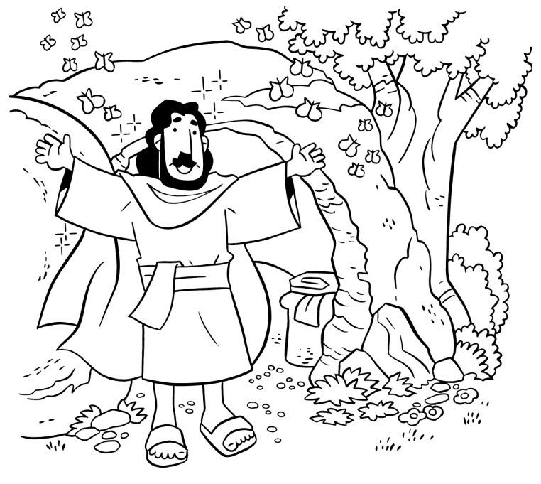 Jesus is alive coloring page Easter coloring pages