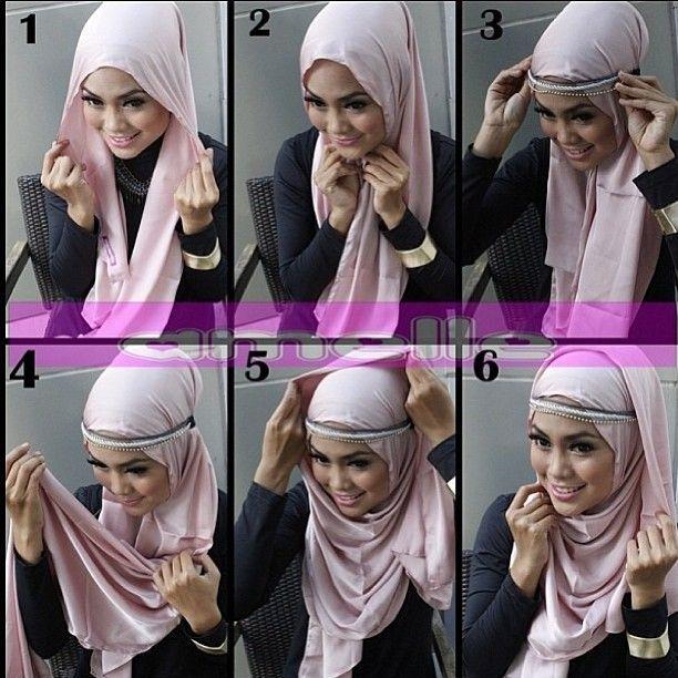 Headband headscarf