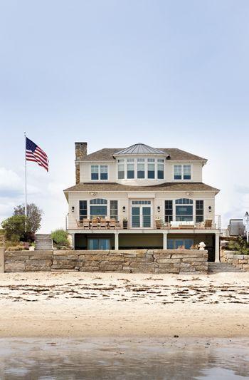 New Hampshire Style Architecture Is Always Clic Hampton Exterior Beach House