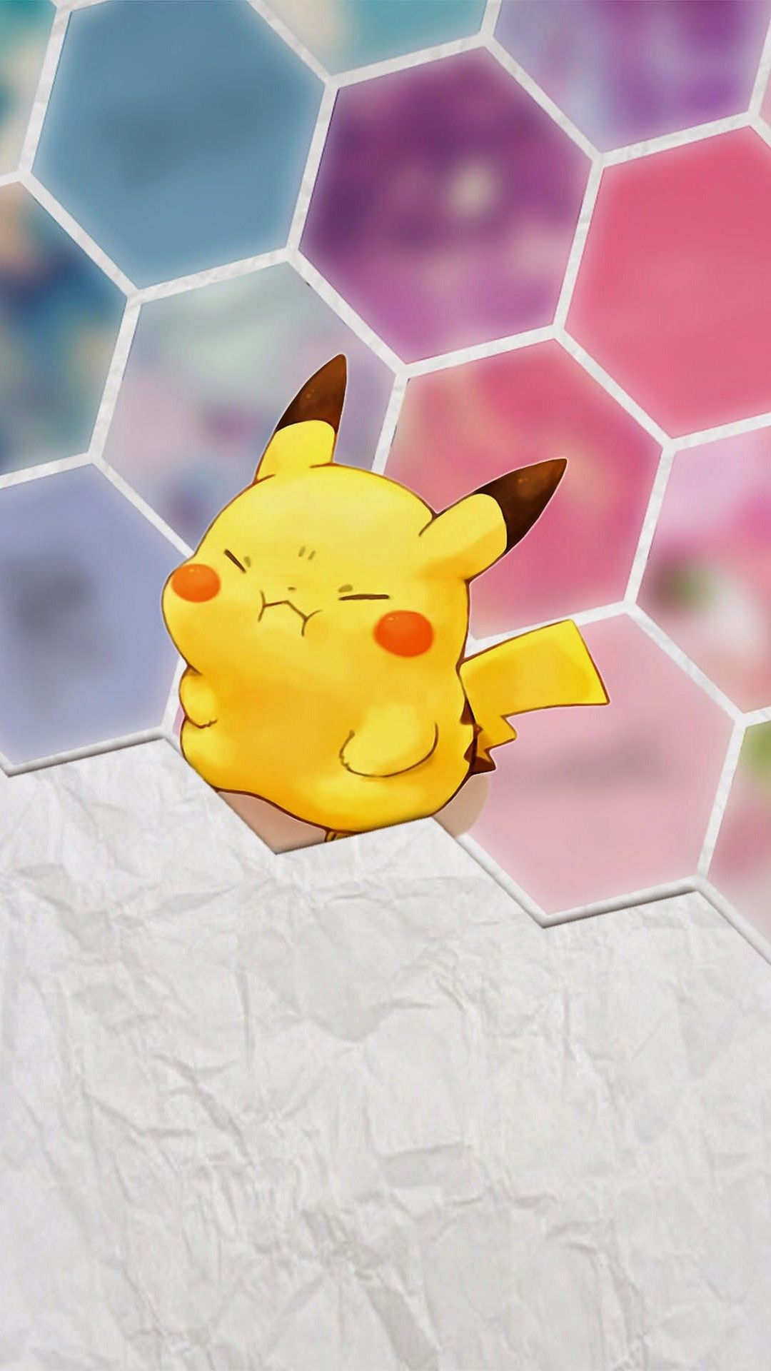Tap image for more iPhone 6 Plus Pikachu wallpapers