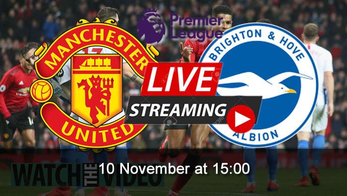 Manchester Utd 31 Brighton 10th Nov 2019 Football