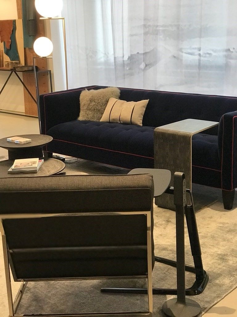 Luxurious Mitchell Gold Bob Williams Kennedy Sofa Paired With The
