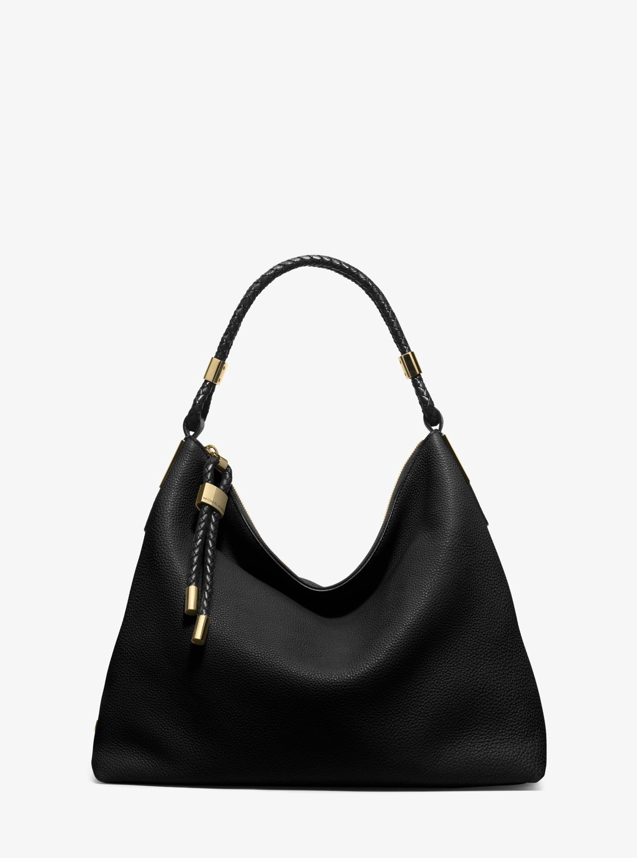 5cfd46ba77c0 MICHAEL KORS Skorpios Large Leather Shoulder Bag.  michaelkors  bags  shoulder  bags  hand bags  lining  leather  cotton