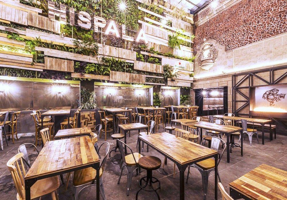 Hispala1 Restaurante Al Aire Libre Mobiliario Terraza Y