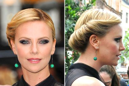 I think my shaggy hair could do this | Rolled updo, 7 Best Summer Hairstyles of 2012