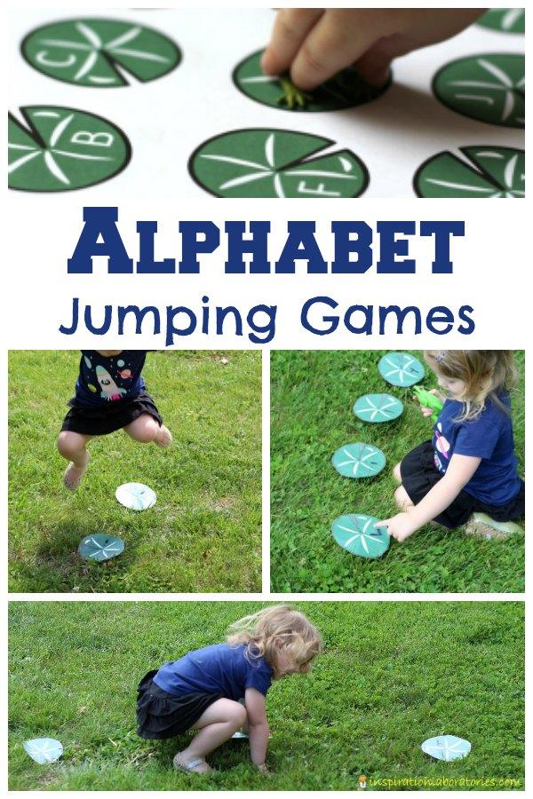 Alphabet Jumping Games Inspiration Laboratories in 2020