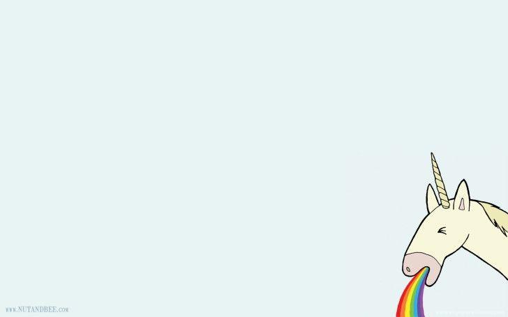 Pin By Croif On Hd Desktop Wallpapers Unicorn Funny Rainbow Unicorn