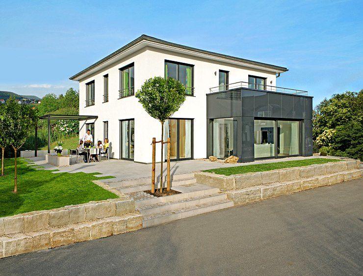 hersteller keitel fertighaus mit wintergarten stadtvillen als fertighaus pinterest haus. Black Bedroom Furniture Sets. Home Design Ideas