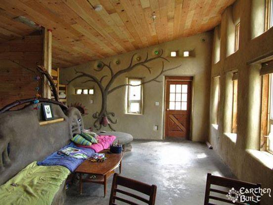 Interiores De Casas Rusticas De Barro Buscar Con Google