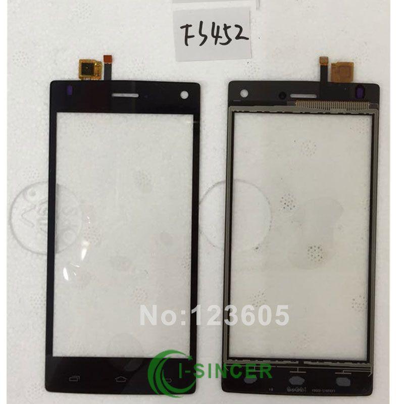 Touch display Digitizer Voor FLY FS401 FS403 FS452 FS451 FS501 FS502 voor Glas Lens Touch Panel Touchscreen Digitizer Zwart