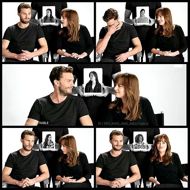 Their chemistry..Jamie and Dakota.  Loved this interview ❤️