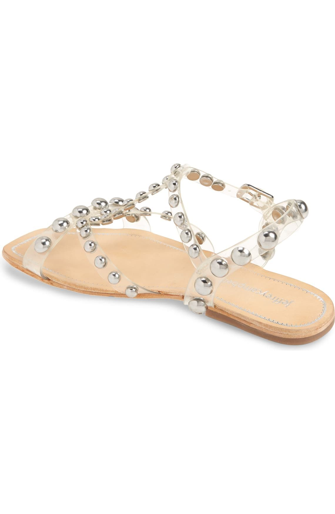 Jeffrey Campbell Amaryl Studded Clear