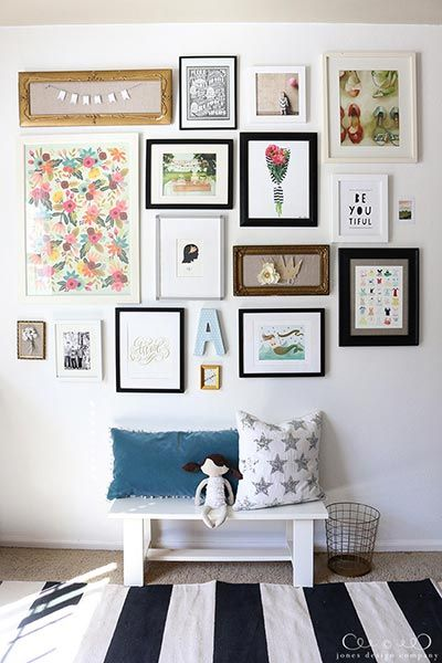 85 Creative Gallery Wall Ideas And Photos For 2019