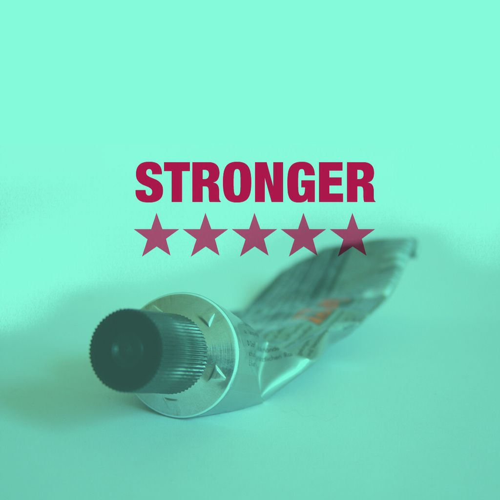 STRONGER THAN GLUE What's the strongest thing you can think of? #StrongerSeries this Sunday #InviteFriends