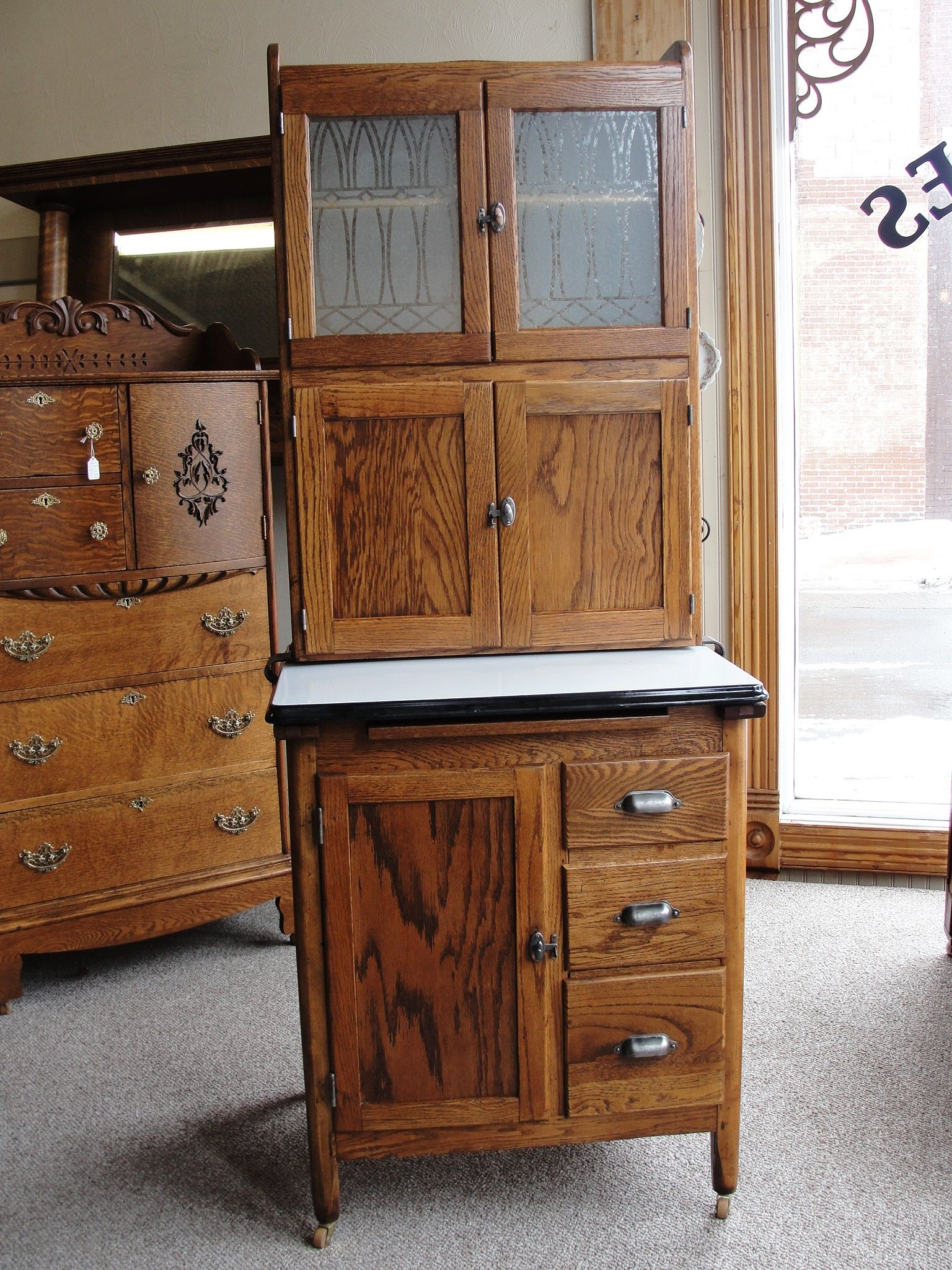 wilson kitchen cabinet hoosier small idea antique furniture