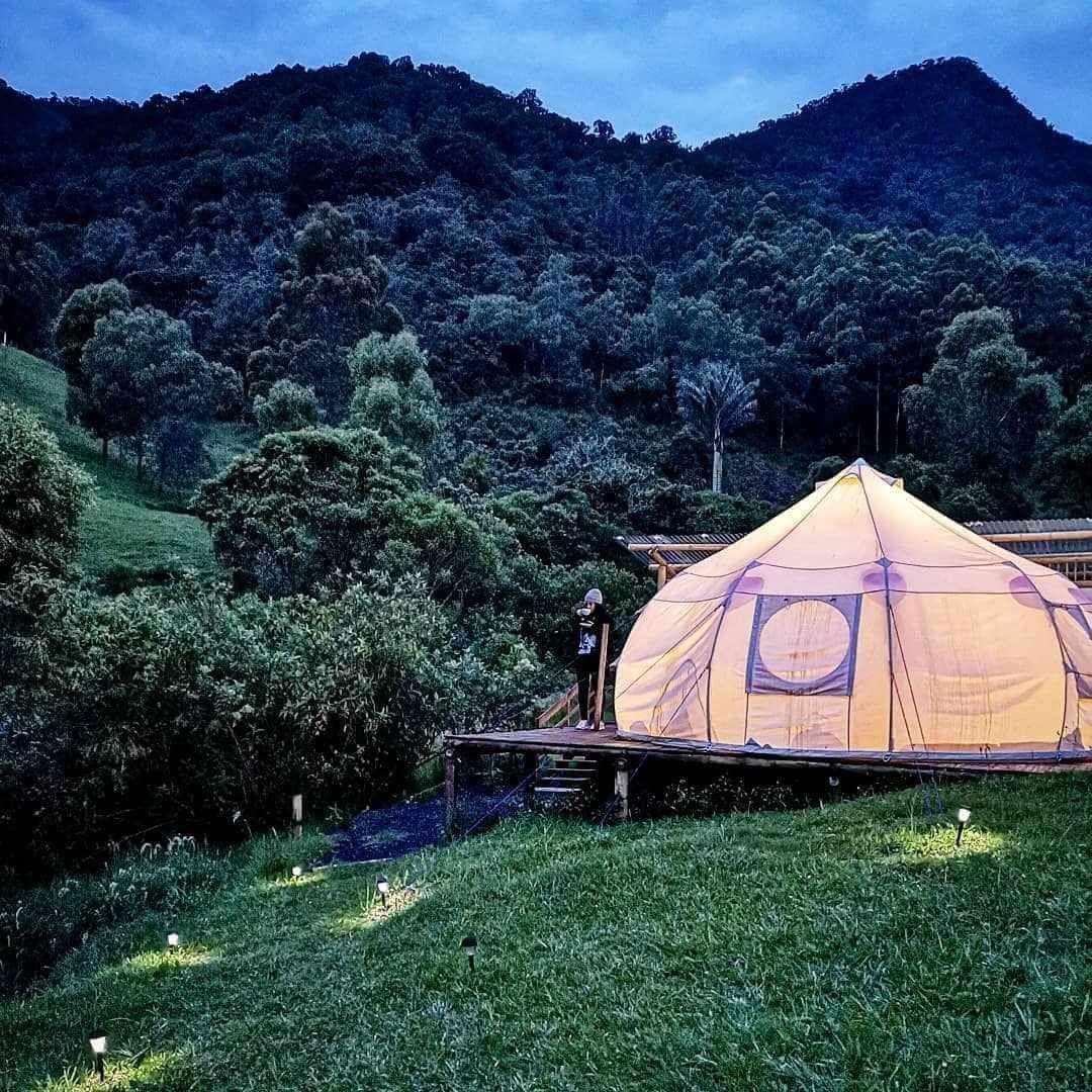 Lugares hermosos para acampar