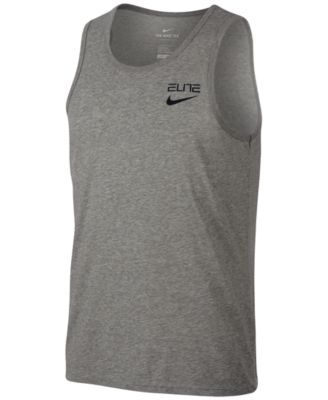 Nike Mens Shirt - Nike Pro Cool Sleeveless Fitted Black/Anthracite/White Y48t8321