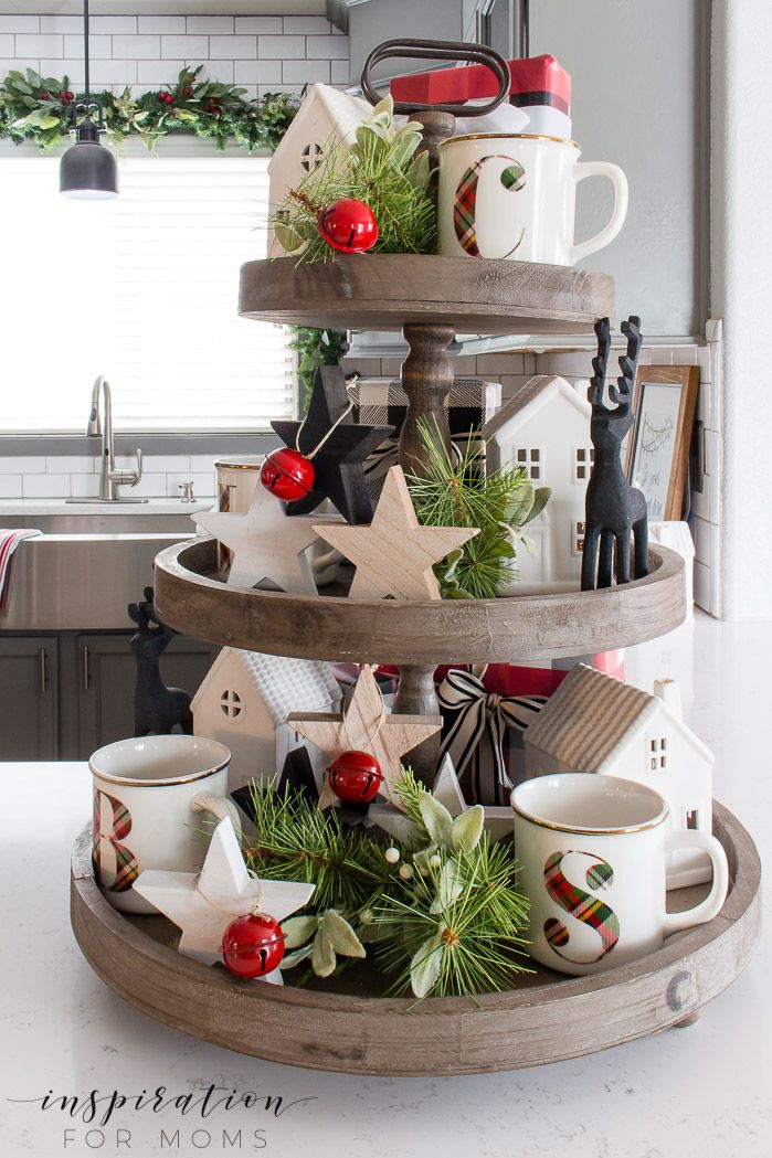 Christmas Kitchen Home Tour 2018 - Inspiration For Moms