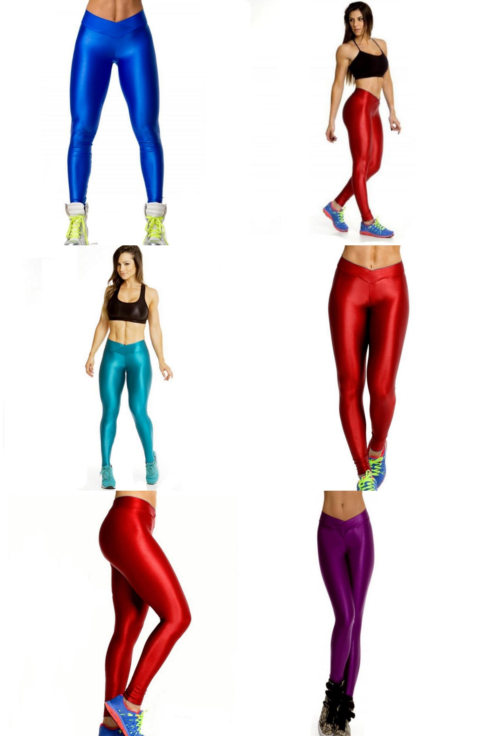 8b07015f56435 [Visit to Buy] Women High Waist Sexy Tight Legging Sports Pants Elastic  Yoga Fitness