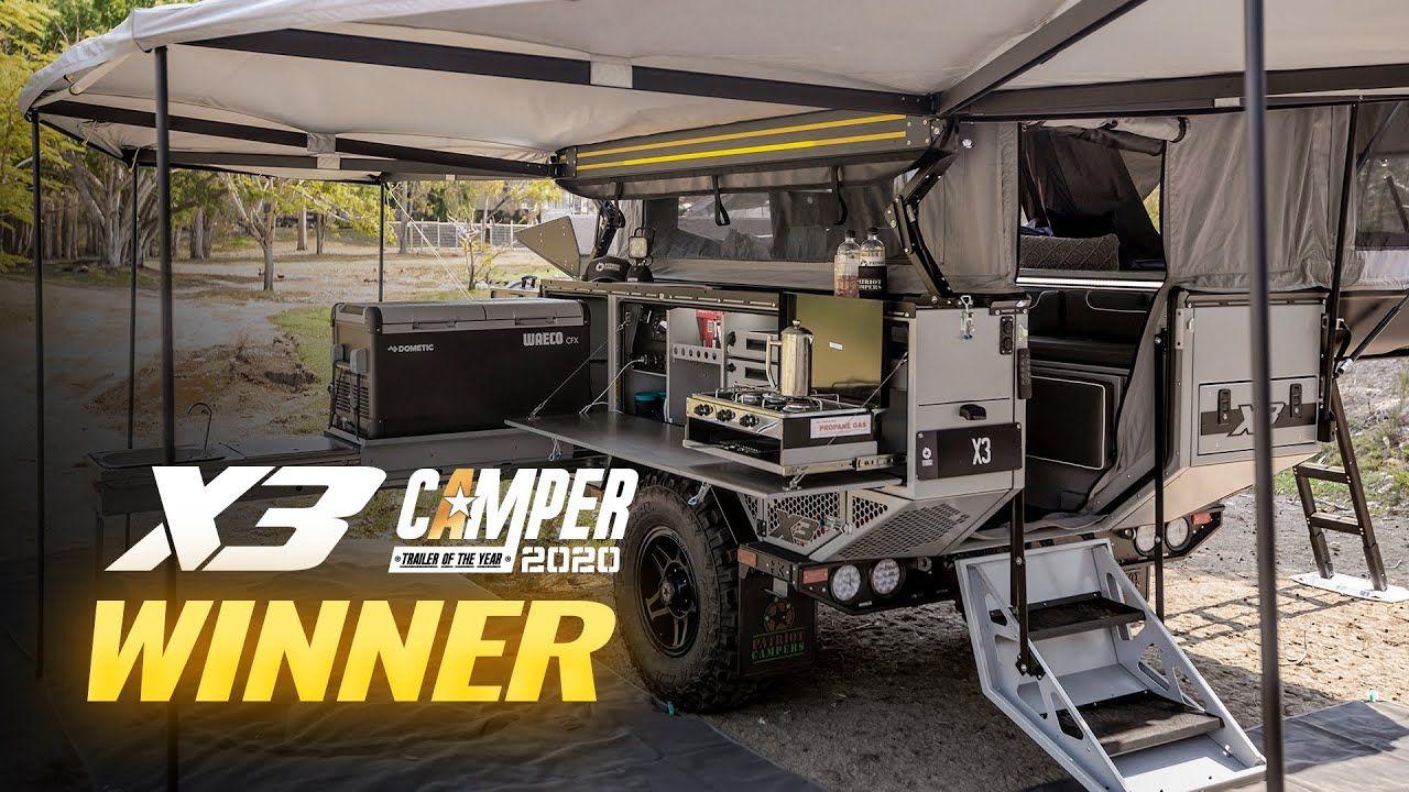 Australia's Best Camper Trailer Patriot Campers X3