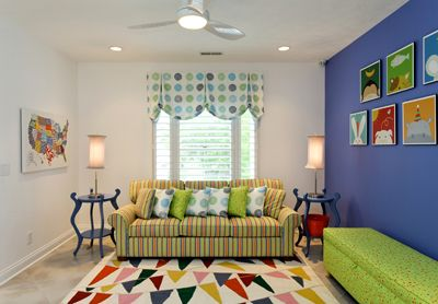 Colorful Mix Of Materials For Childrenu0027s Play Room. Indianapolis Interior  Design, Indianapolis Interior Decorator