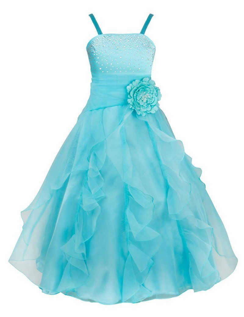 Stylish formal princess wedding party kids dress in products