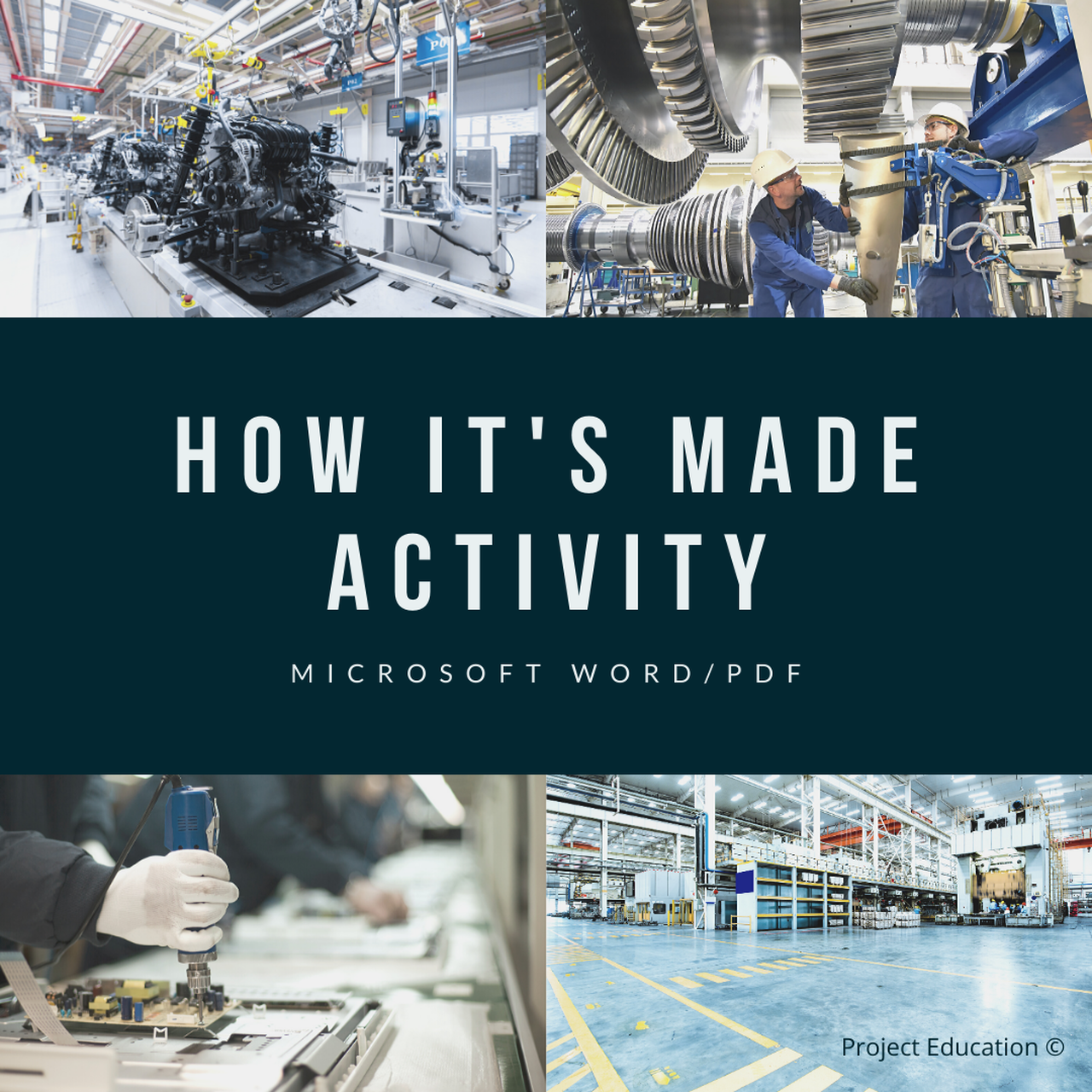 How It S Made Activity In