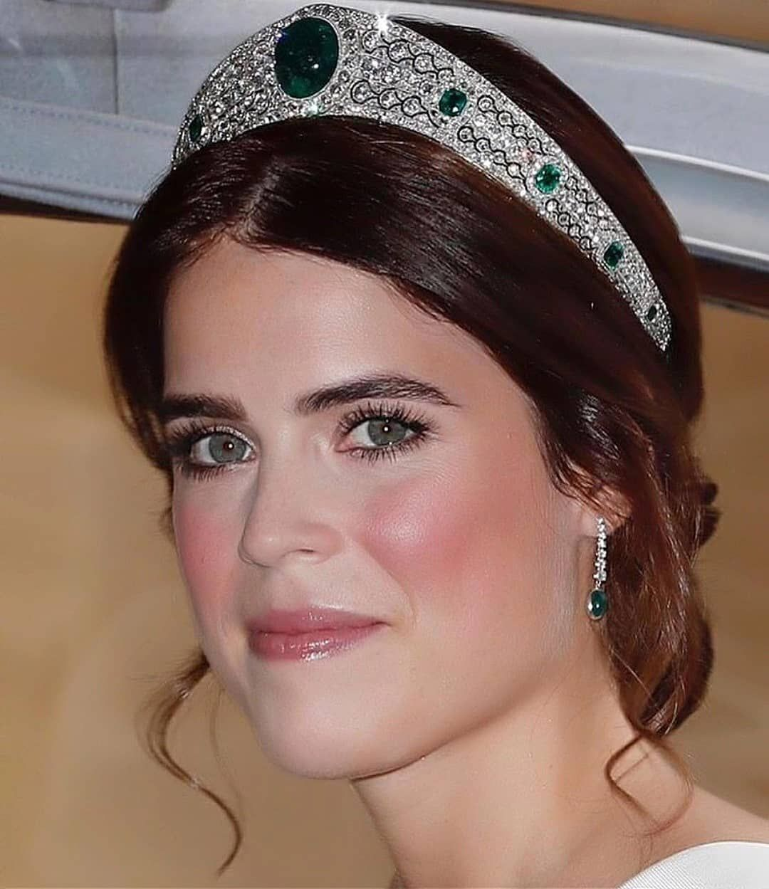 12 October 2018 I love The Greville Emerald Kokoshnik