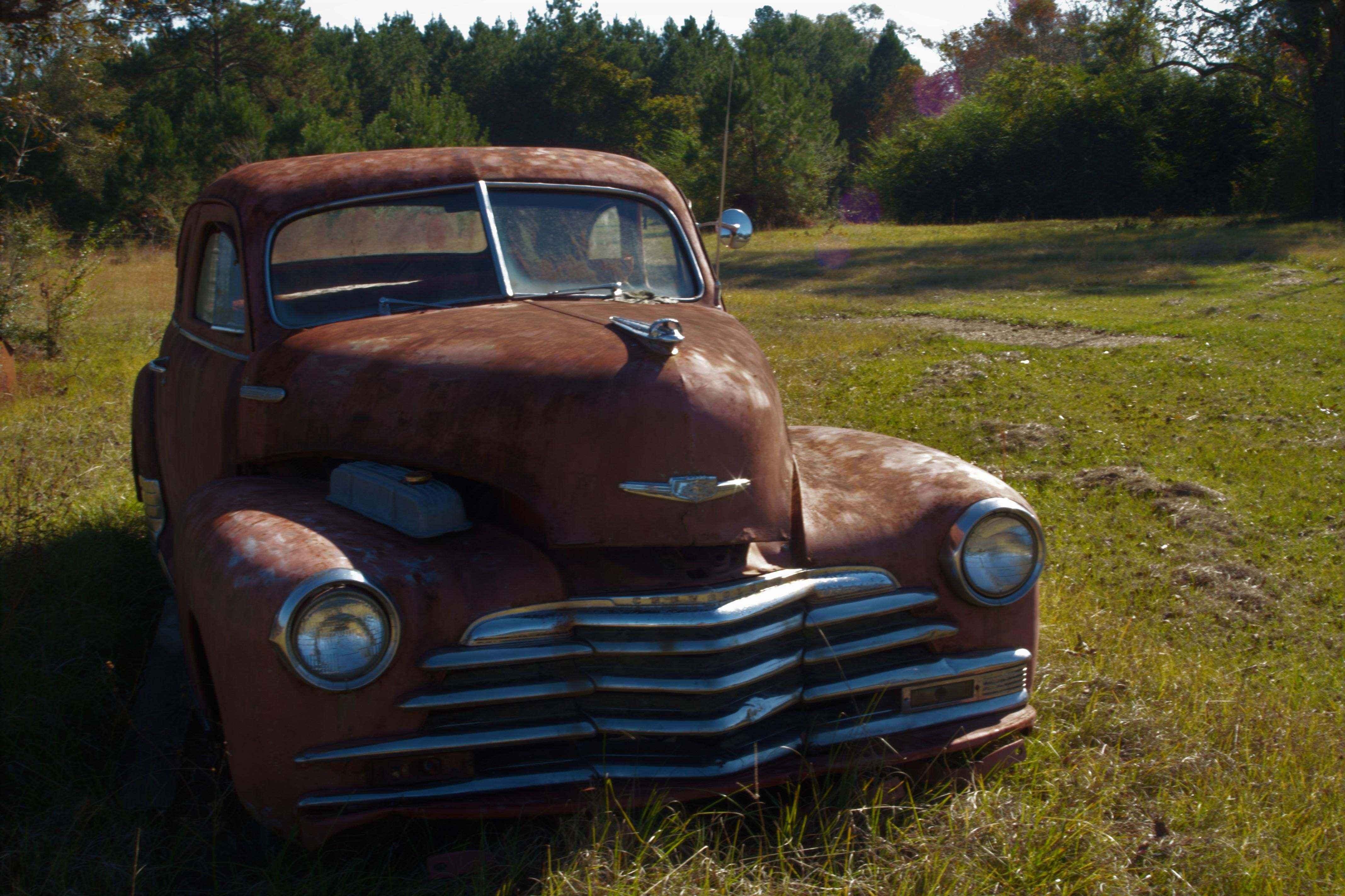 Found this old car in a field | nature and life | Pinterest ...