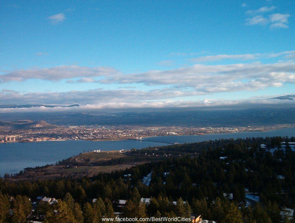 Penticton Canada Okanagan Valley American Cities British Columbia