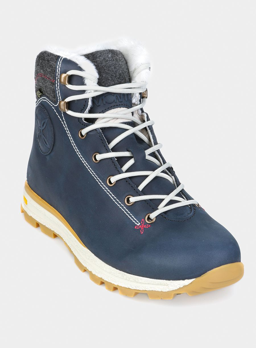 Buty Damskie Montura Cervinia Gtx Blue Night Gray Smoke Blue Boots Hiking Boots