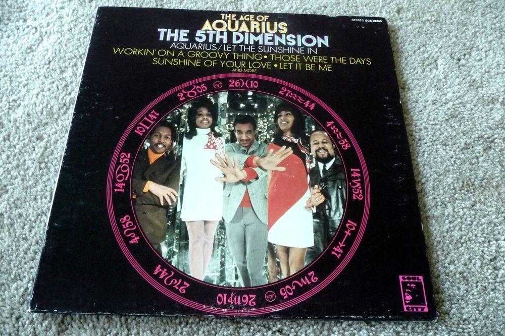 Vintage Record Album LP: The Age of Aquarius The 5th Dimension Soul City 1969