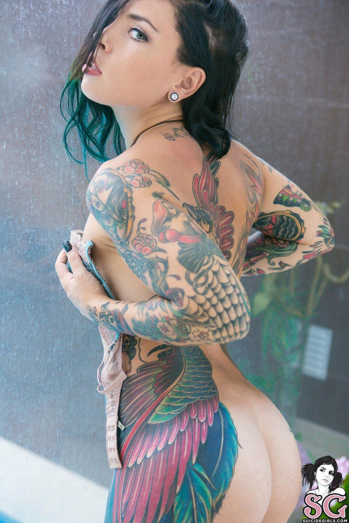 Tattoo Girl Von - Eden suicide eden von hell