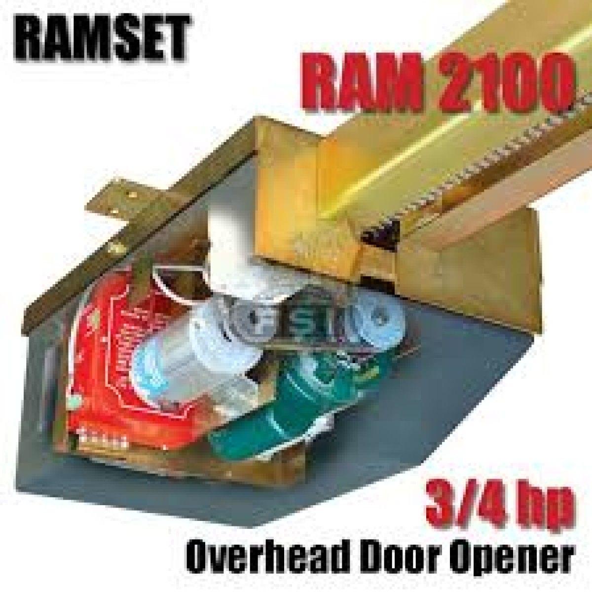 Ramset Ram 2100 Gate Operator 3 4 Hp Overhead Gate Operator In 2020 Gate Operators Gate Openers Gate