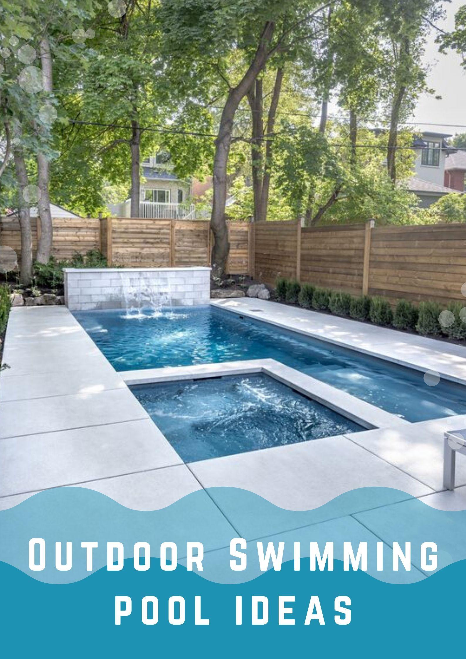 Beautiful Outdoor Swimming Pool Ideas To Steal Backyard Pool Landscaping Backyard Pool Designs Pools Backyard Inground