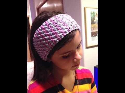 How To Knit Star Stitch Headband Tutorial Video On 2 Colors