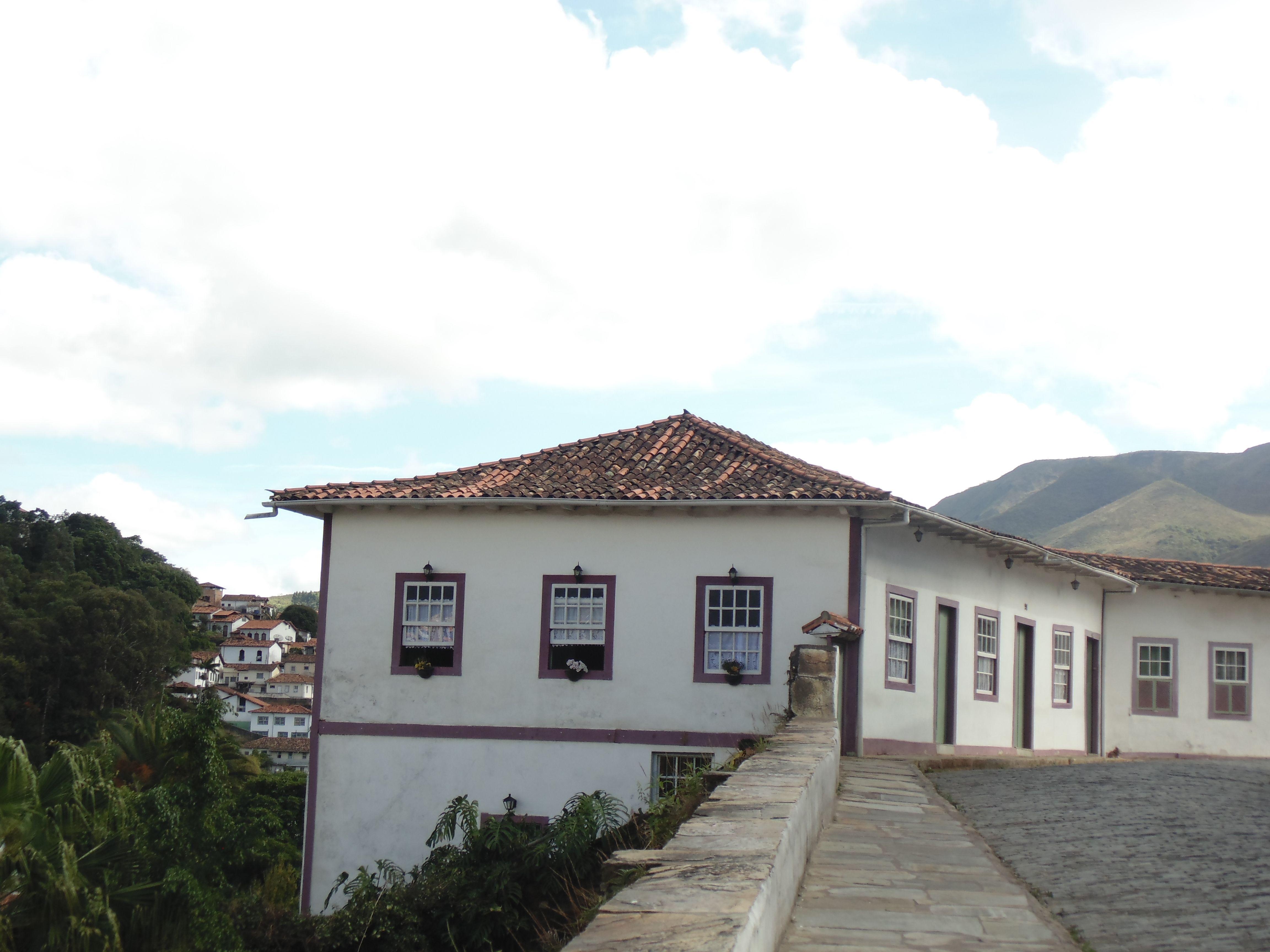 Nas ladeira de Ouro Preto