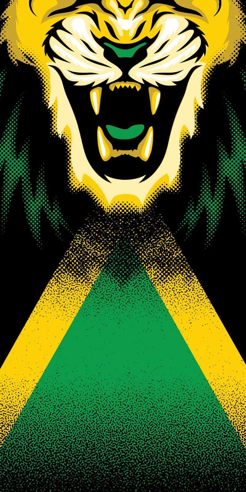 Jamaican Flag Face Bandana Soca Flag Face Mask Bandanas Cool Face Life Jamaican Flag Rasta Art Jamaican Art