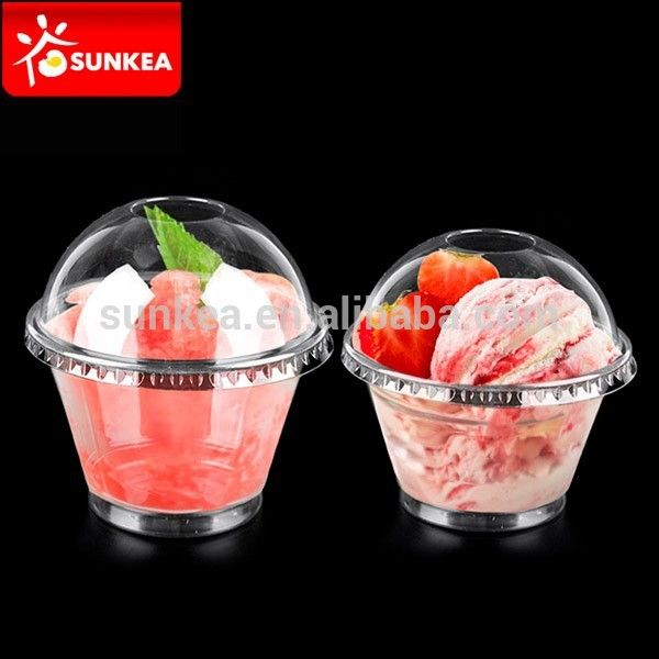Disposable Plastic Bowls Cup Dessert Soup Ice Cream Party Wedding BBQ Strong New