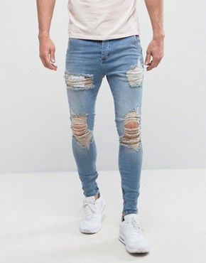 Search: mens skinny jeans - Page 2 of 26. Vaqueros RotosRopa De HombreInformalModa  ...